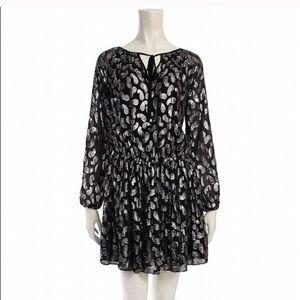 Michael Michael Kors black & silver dress size Sm